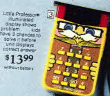 Little Professor Electronic Learning  Aid From The 1970s