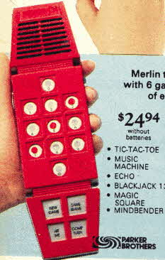Merlin The Electronic Wizard  Game Machine From The 1970s
