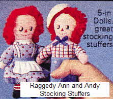 Raggedy Anne and Andy  From The 1970s
