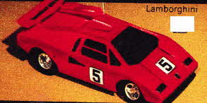Radio Controlled Remote Control Lamborghini From The 1970s