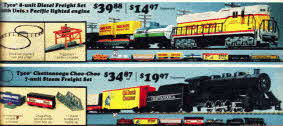 Tyco Train Set From The 1970s