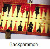 Backgammon From The 1970s
