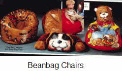 1970's Bean Bag Chairs