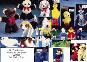 Selection of Cuddly Toys from the 70s