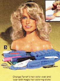 Farrah Fawcett Glamour Center From The 1970s