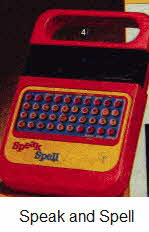 Speak and Spell From The 1970s