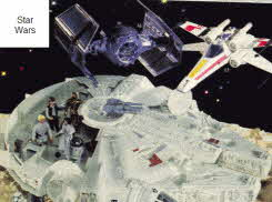 Star Wars Spaceship and Figures From The 1970s