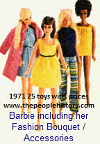 Barbie's Fashion Bouquet / Accessories 1971