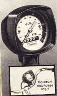 Bicycle Speedometer, Odometer and Tachometer From the 1970s