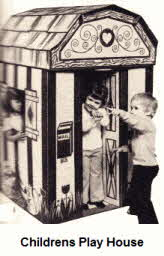 Childrens Play House From the 70's