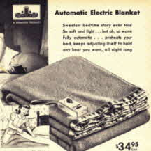 Automatic Electric Blanket Late 40's