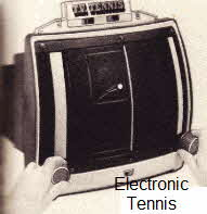 Battery Powered Electronic Tennis Game From the 70's