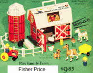 Fisher Price Play Farm From the 1970s