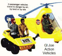 1970's GI Joe Action Figures and his Action Vehicles