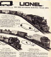 Vintage Lional .027 Guage Train Sets and Trains 1974