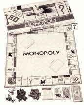 Original Monopoly Game From The 1970's