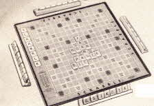 Orinal 1970s Scrabble Game