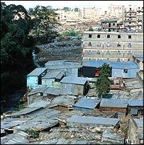 Slum Dwellings Public Domain Image