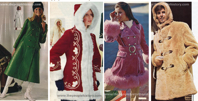 Vintage Fashion Clothing And Accessories From The 1970s
