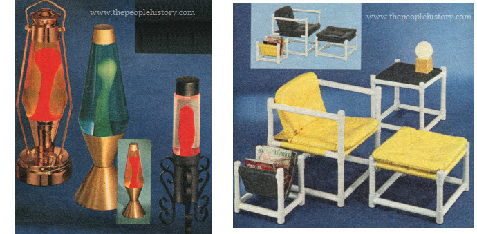 Some Examples of Furniture From The Seventies