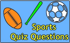 Our Fun Sports Quiz Just For Fun