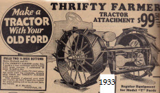 Make A Tractor From Ford Model T