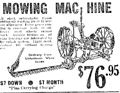1937 mowing machine