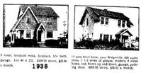 examples of homes for sale in 1938