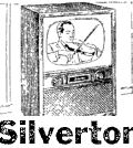 15th June  1955 21 inch Silvertone TV for better reception $219