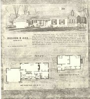 Plans From A 1960's House