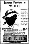 1933 Fashion hats for $1.95