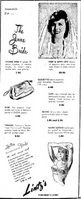 1947 Bridal accessories and clothing, $1.95 to $29.95