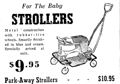 1946 baby stroller from $9.95