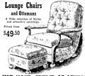 lounge chair and otterman from $49.50